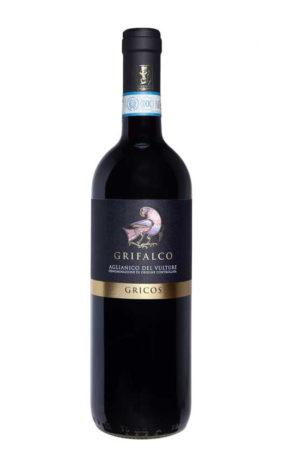 vino rosso aglianico gricos